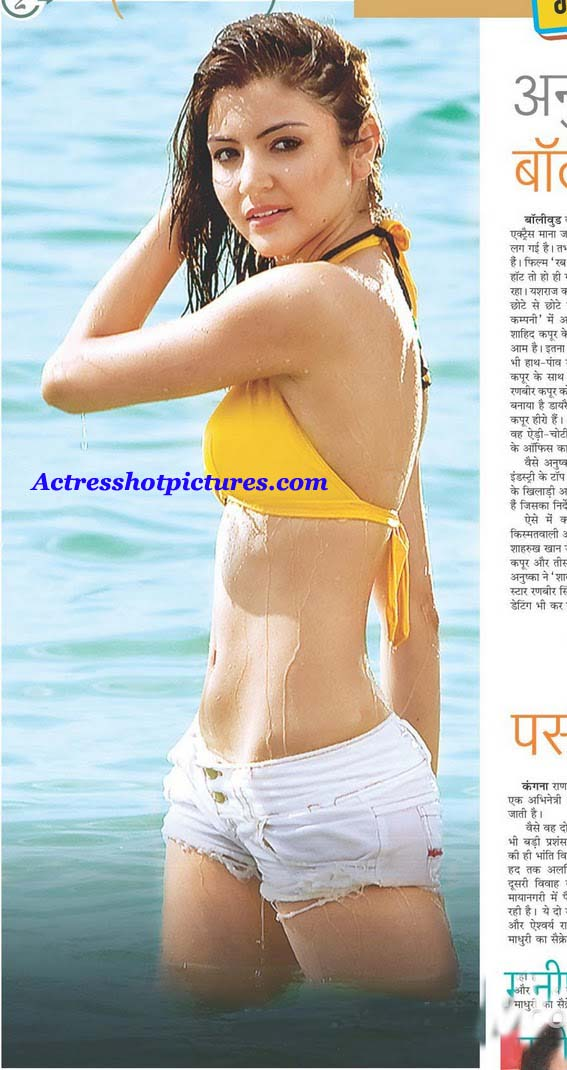 anushka sharma hot images. Anushka Sharma hot wet bikini